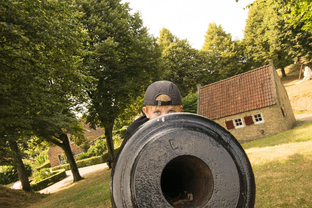 Festung Bourtagne - Kanonen