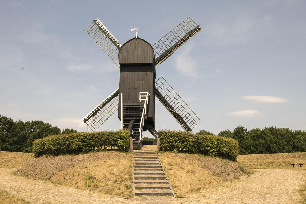 Festung Bourtagne - Windmühle
