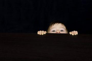 Neugier bei Kindern
