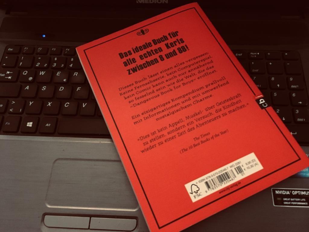 Dangerous Book for Boys - Rückseite