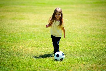 Kinder - Spaß am Fußball