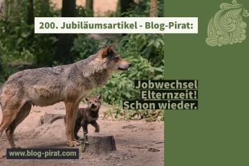 200. Jubiläumsartikel - Blog-Pirat Jobwechsel Elternzeit! Schon wieder.