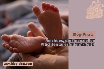 Blog-Pirat Reicht es, die finanziellen Pflichten zu erfüllen